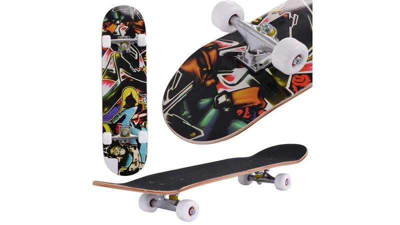 "Skateboard 31/"" x 8/"" Complete PRO Skateboard 9 Layer Canadian Maple Wood"